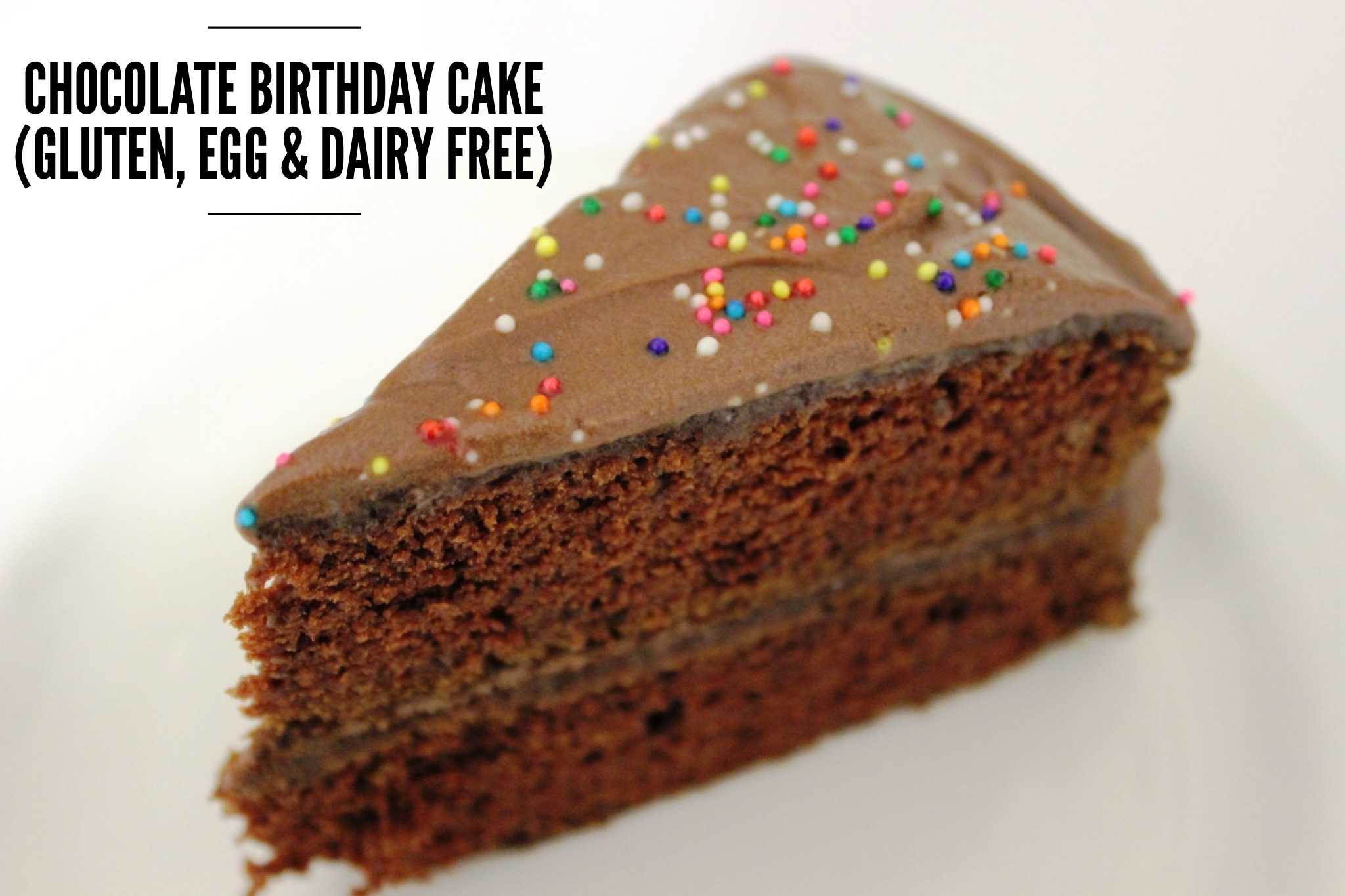 Fine Chocolate Birthday Cake Gluten Egg Dairy Free Suddenly Celiac Personalised Birthday Cards Petedlily Jamesorg