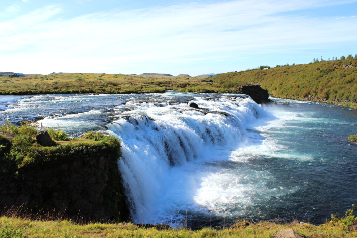 Faxi waterfall, Iceland   SuddenlyCeliac.org