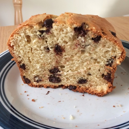 Chocolate Chip Bread (gluten free)