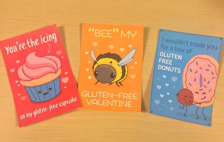 Printable (free) gluten-free valentines